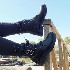 Las nuevas botas Rocky son muy 🔝  Ya en tienda y en la web online aquí , su precio ? 35,99€ 👉🏼https://www.ninetashop.com/buscar?controller=search&s=Rocky