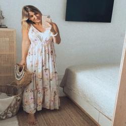 Estrenando vestido 💕 … El vestido Phi Phi , es puro  amor 🙋🏽♀️
